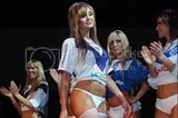 Soccer babes in thongs launch the 09/10 Velez Sarfield Penalty kits