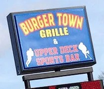 Burger Town Grille & Upper Deck Sports Bar