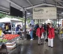 The Ann Arbors Farmers Market on Detroit Street in Kerrytown