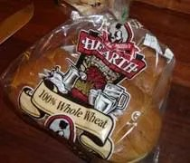 Aunt Millies Hearth 100% Whole Wheat Buns