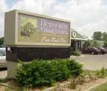 Benson\'s Vinaigrettes
