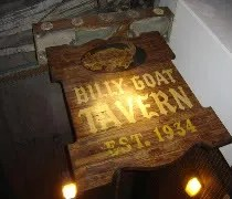 The Billy Goat Tavern on Michigan Ave. in downtown Chicago