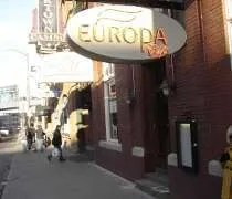 Europa Patisserie Cafe near the Greektown Casino in Detroit