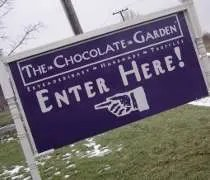The Chocolate Garden outside of Coloma, MI
