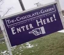 The Chocolate Garden outside of Coloma, MI