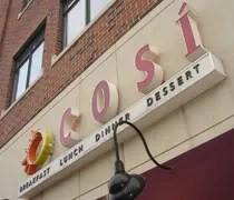 Cosi on Grand River Avenue in East Lansing.