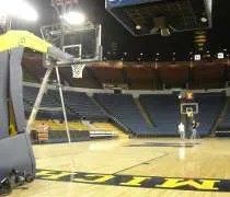 Crisler Arena on the University of Michigan campus in Ann Arbor