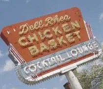 Dell Rheas Chicken Basket on old Route 66 in Willowbrook, IL