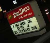 The only Illinois Del Taco location in Oak Lawn.