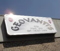Geovantis Bar & Grill on Green Street near the campus of the University of Illinois