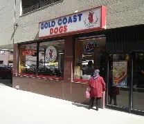 Gold Coast Dogs in Downtown Chicago