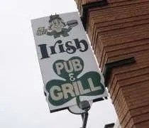 Irish Pub & Grill on Saginaw Street in Lansing.