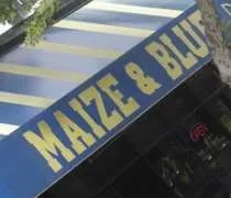 The Maize and Blue Delicatessen on South University at Washtenaw in Ann Arbor.