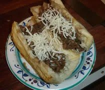 The finished Italian beef...only available in Chicago