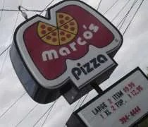 Marcos Pizza on South Cedar Street in Lansing.