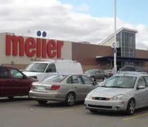The Grand Ledge Meijer store located just on the edge of town on Saginaw Highway