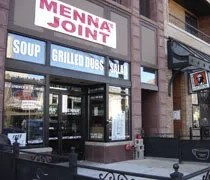 Mennas Joints new location in downtown Lansing on Washing Square.