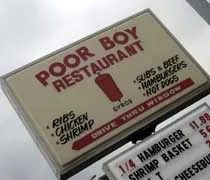 Poor Boy Restaurant on Court Street in Kankakee, IL