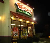 Popeyes Chicken & Biscuits on MLK in Lansing.