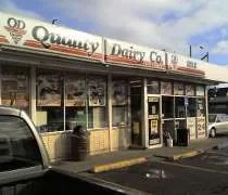 The Quality Dairy on Michigan and Harrison in East Lansing.