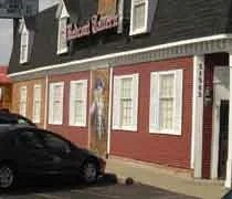 The front of  Red Coat Tavern as seen from Woodward Ave. in Royal Oak, MI