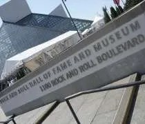 The Rock and Roll Hall of Fame and Museum in Clevealand, OH