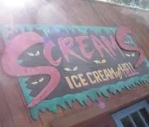 Screams Ice Cream From Hell on Patterson Lake Road in Hell, Michigan.