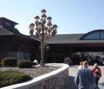 The entrance to the casino at Soaring Eagle in Mt. Pleasant