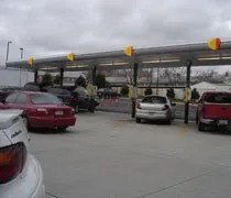 The other car stalls at Sonic in Flint.
