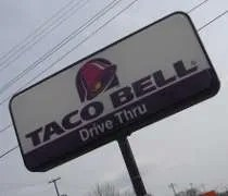 The Taco Bell on Trowbridge Road in East Lansing.