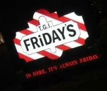 TGI Fridays on 95th Street in Oak Lawn.
