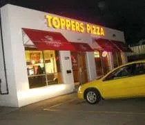 Toppers Pizza on Grand River Avenue in East Lansing.