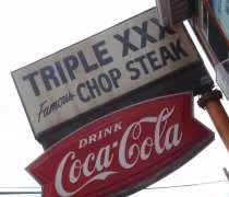 Triple XXX Family Restaurant on Salisbury Street in West Lafayette, IN