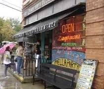 Zingermans Delicatessen in the Kerrytown District of Ann Arbor