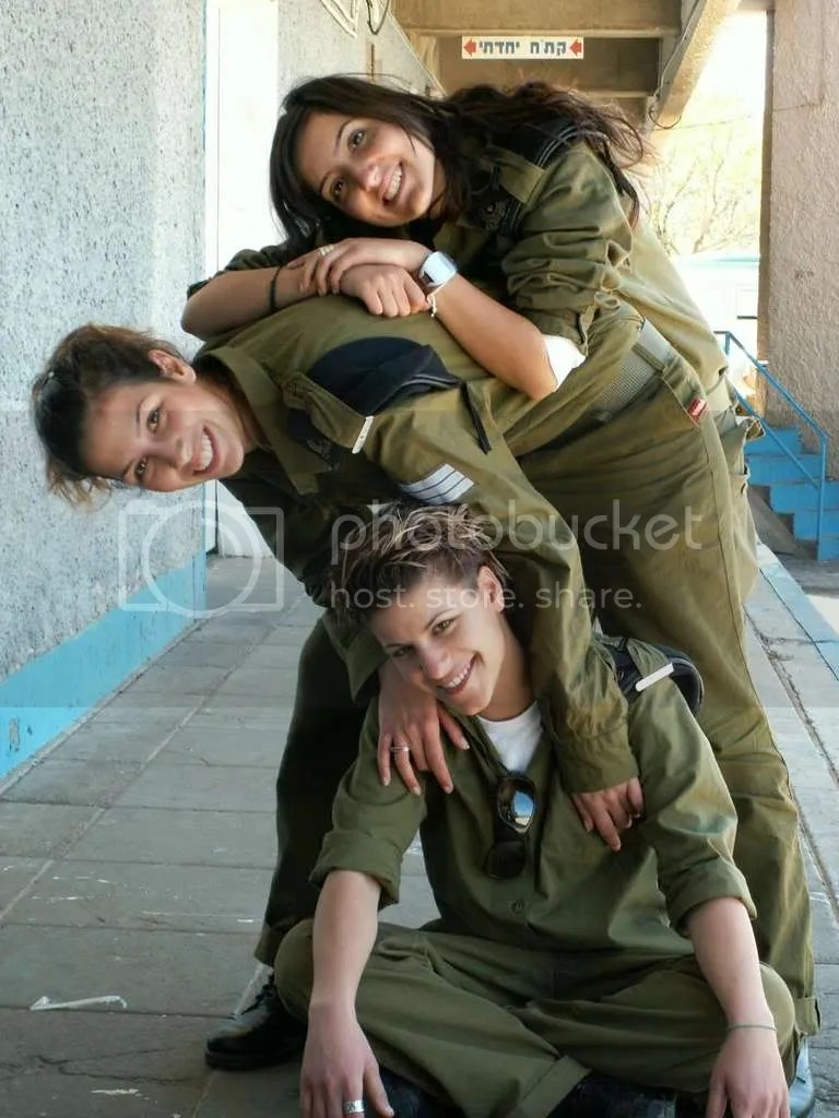 Go fuck yourselves, Hamas. These girls are on our side.