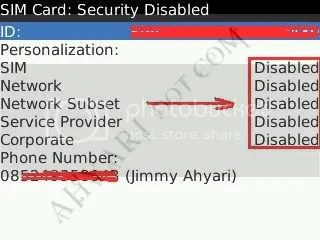 BlackBerry Unlock