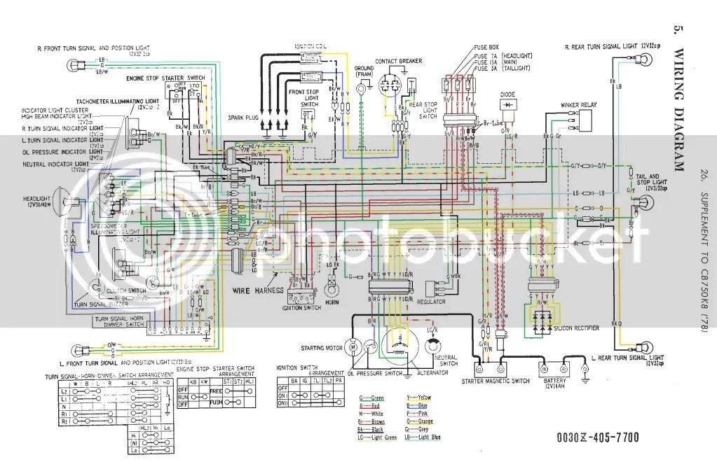 Großartig Cb750 Schaltplan Bilder - Elektrische ...