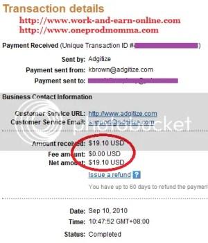 Adgitize Payment