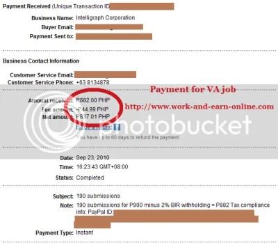 VA Payment