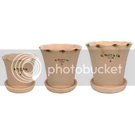 Guy Wolff Flower Pots