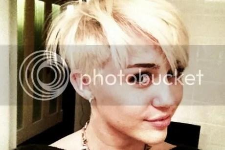 Miley Cyrus Boyish Haircut