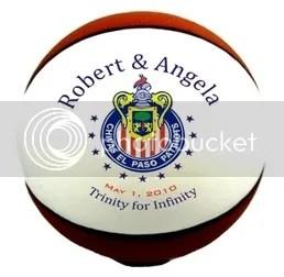 Wedding Basketball Gift