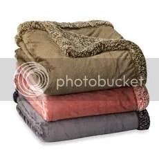 Madison Oversized Reversible Heathered Throw Blanket