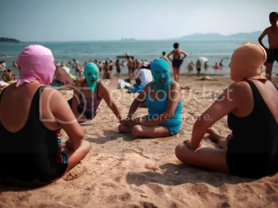 Face-kini - China Beach Craze
