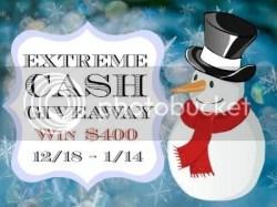 $400 Cash December Extreme