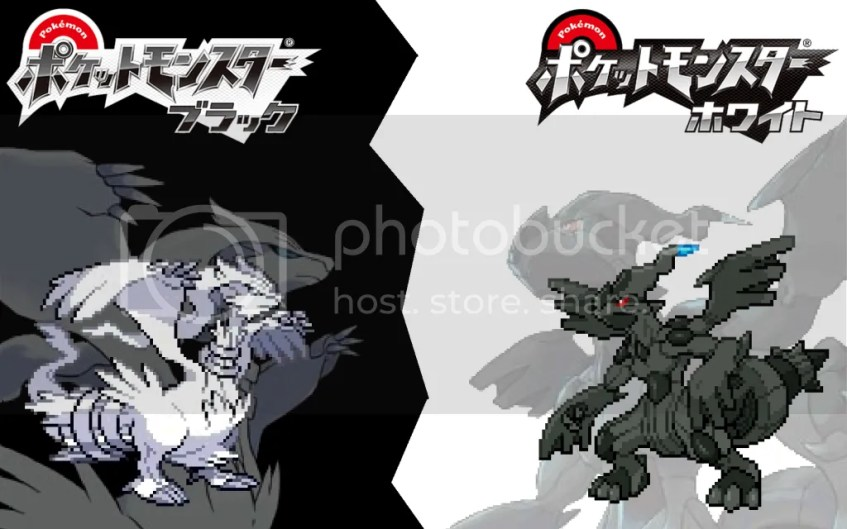Pokemon White and Black Legendaries