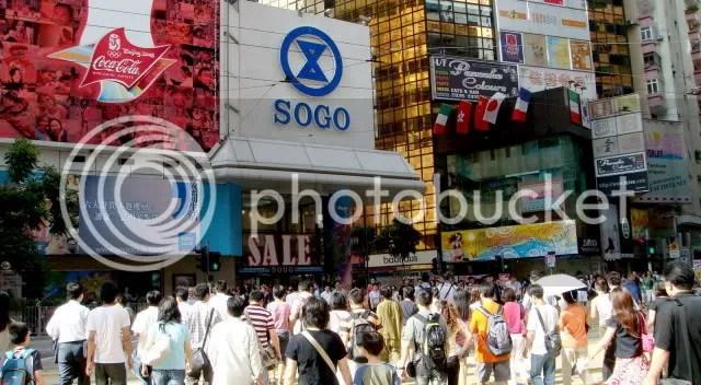Sogo, Causeway Bay