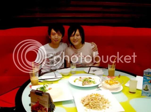 Jeremy & Jacqueline @ Charme Restaurant, Raffles City
