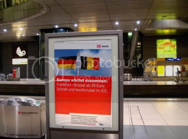 Frankfurt Main Railroad Station