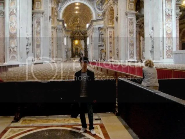 Jeremy C.K. Shih at St. Peter's Basilica